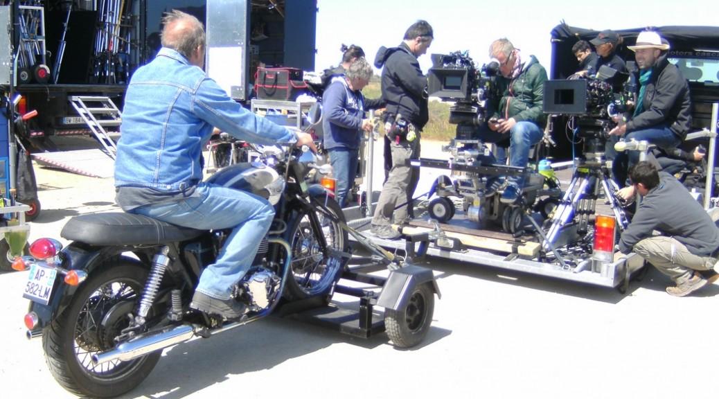 Motorcycle hire for film shoots at Classic Bike Esprit, St Rémy de Provence
