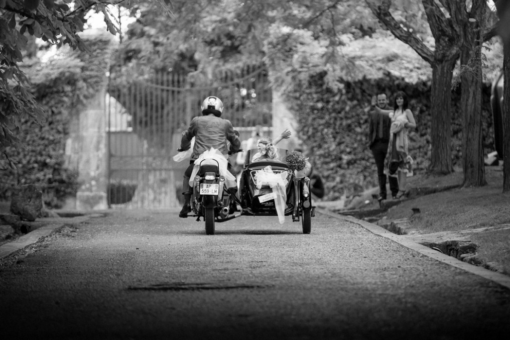 Sidecar rental for weddings